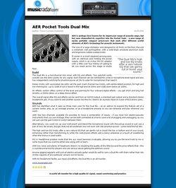MusicRadar.com AER Pocket Tools Dual Mix