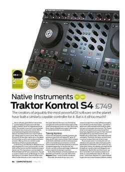 Computer Music Native Instruments Traktor Kontrol S4