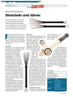 DrumHeads Instrumente & Technik - Test: Wincent Rods & Besen