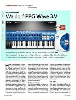 KEYS Waldorf PPG Wave 3.V