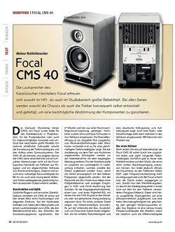 KEYS Focal CMS 40