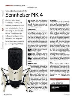 KEYS Sennheiser MK 4