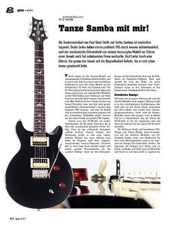 Guitar gear E-Gitarre - PRS SE Santana