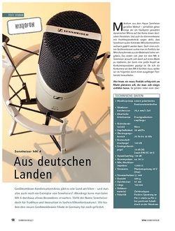 Soundcheck Test Mikrofon: Sennheiser MK 4