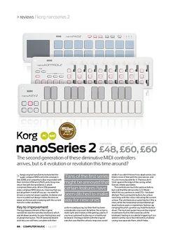 Computer Music Korg nanoPad Series 2