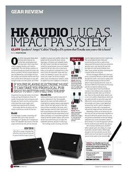 Rhythm HK AUDIO L.U.C.A.S. IMPACT PA SYSTEM