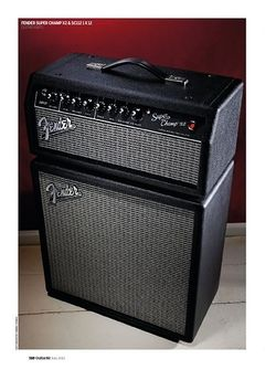 Guitarist Fender Super Champ X2