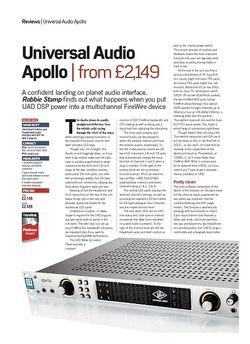 Future Music Universal Audio Apollo