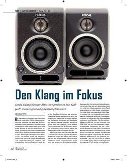 Professional Audio Focal CMS 40