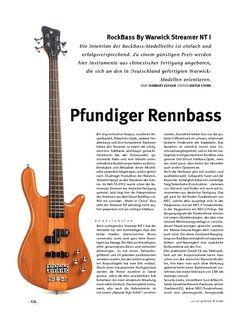 Gitarre & Bass Rockbass RockBass By Warwick Streamer NT I