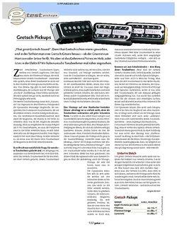 Guitar Test: Gretsch Pickups