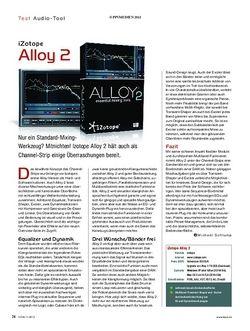 KEYS iZotope Alloy 2