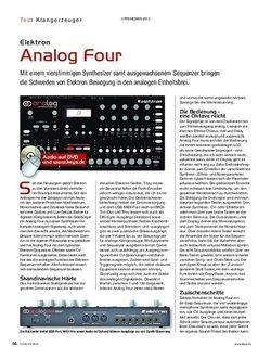 KEYS Elektron Analog Four