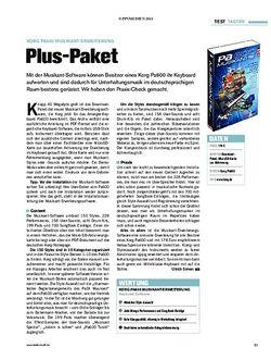 Tastenwelt Korg Pa600 Musikant-Erweiterung
