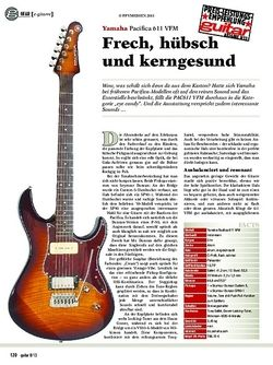 Guitar Yamaha Pacifica 611 VFM
