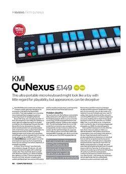 Computer Music KMI QuNexus