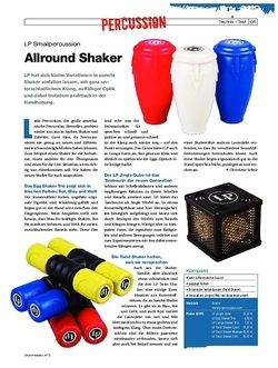 Drumheads LP Small Percussion Shaker