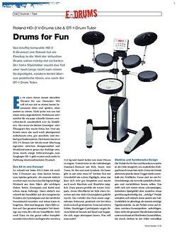 Drumheads Roland HD-3 V-Drums Lite & DT-1 Drum Tutor