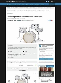 MusicRadar.com DW Design Series Frequent Flyer Kit