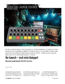 Sound & Recording Novation Launch Control - USB-MIDI-Controller
