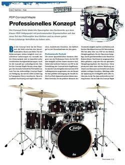 Drumheads PDP Concept Maple Kit