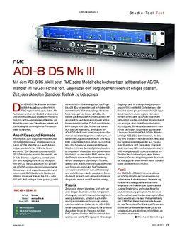 KEYS RME ADI-8 DS Mk III