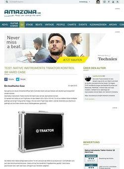 Amazona.de Test: Native Instruments Traktor Kontrol S8 Hard Case
