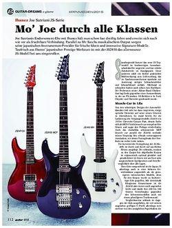 Guitar Ibanez Joe Satriani JS-Serie