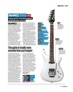 Total Guitar Ibanez JS140