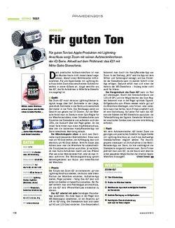 Tastenwelt Zoom iQ7