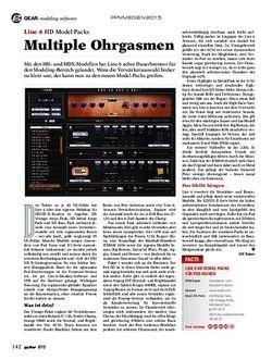Guitar Line 6 HD Model Packs