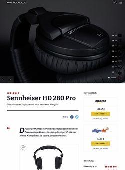 Kopfhoerer.de Sennheiser HD-280 Pro