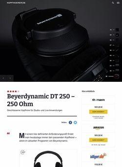 Kopfhoerer.de Beyerdynamic DT-250/250