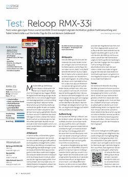 Beat Reloop RMX-33i
