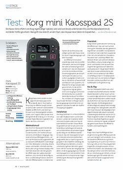Beat Korg mini Kaosspad 2S