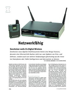 Gitarre & Bass Sennheiser ewD1 CI1 Digital Wireless, Sende-Anlage