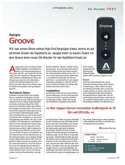 KEYS Apogee Groove