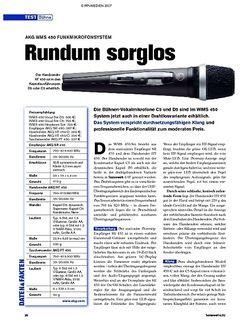 Tastenwelt Test: AKG WMS 450 - Rundum sorglos