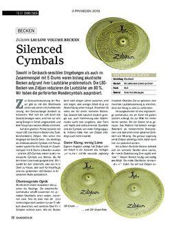 SOUNDCHECK Zildjian L80 Low Volume Becken