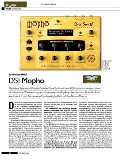 KEYS DSI Mopho