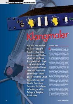 Professional Audio Klangmaler: Chandler Germanium