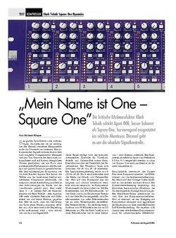 Professional Audio Klark Teknik Square One Dynamics