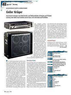 Guitar gear Bassamp - Gallien-Krueger 1001RB-II & 410RBH/4 Cabinet
