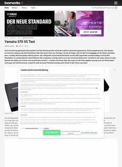 Bonedo.de Yamaha S70 XS