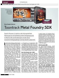 KEYS Toontrack Metal Foundry SDX