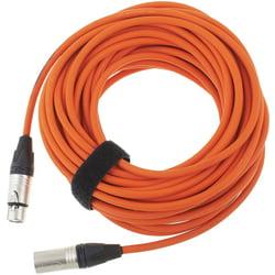 17900 Mic-Cable 15 Orange pro snake