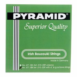 Irish Bouzouki Strings 671/8B Pyramid