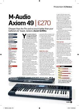 Keyboard Case M-Audio Axiom 49