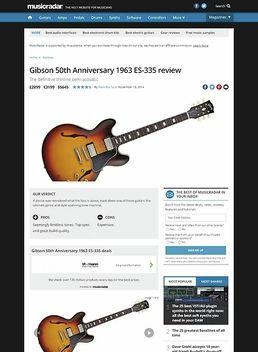 ES-335 1963 Block Reissue VSB
