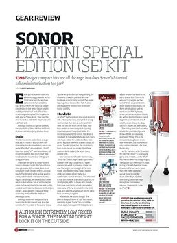 Sonor Martini Special Edition SE Kit